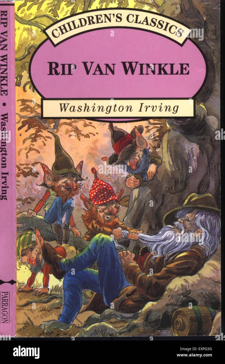 rip van winkle rising action