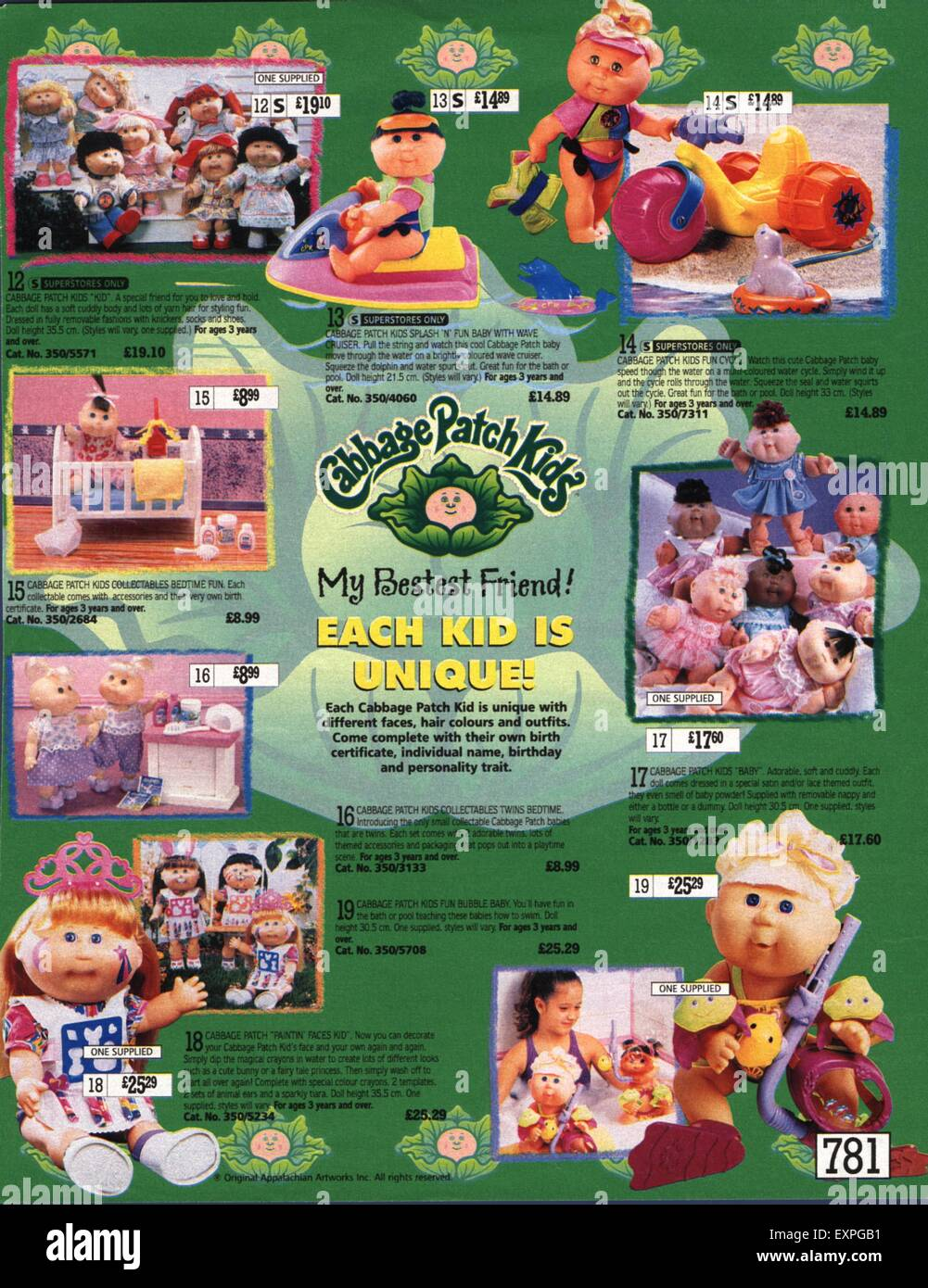 Cabbage Patch Dolls High Resolution Stock Photography and Images - Alamy