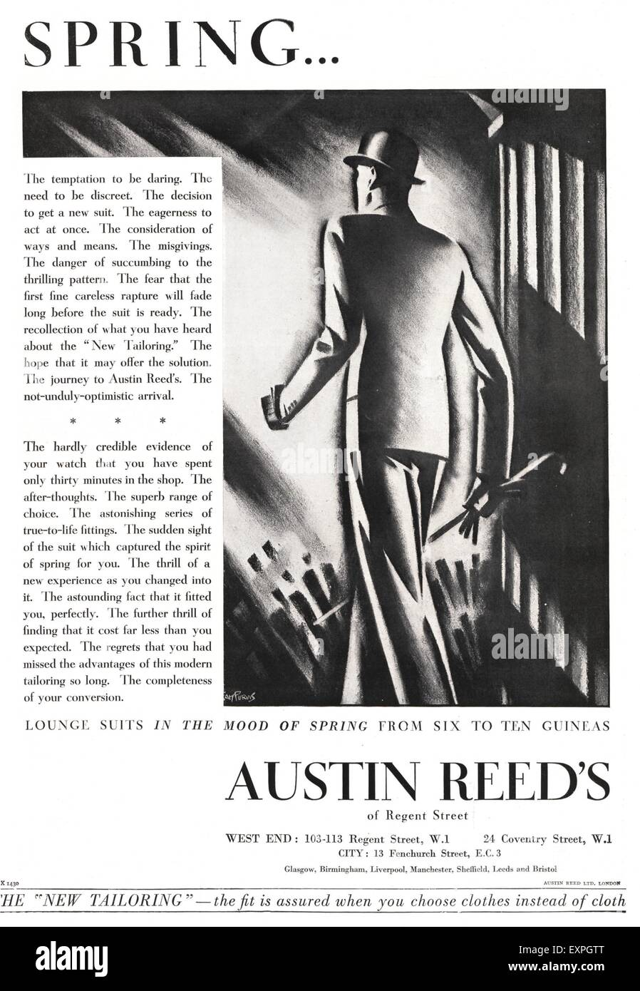 1930s Uk Austin Reed Magazine High Resolution Stock Photography And Images Alamy