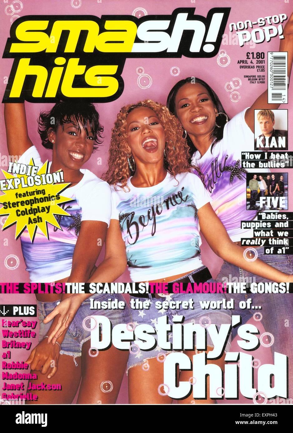 2000s Uk Smash Hits Magazine Cover Stock Photo Alamy