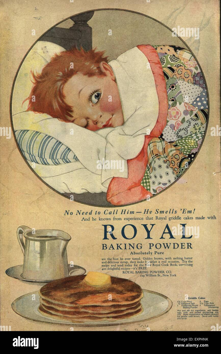 1914 Royal Baking Powder Advertisement 1910-19