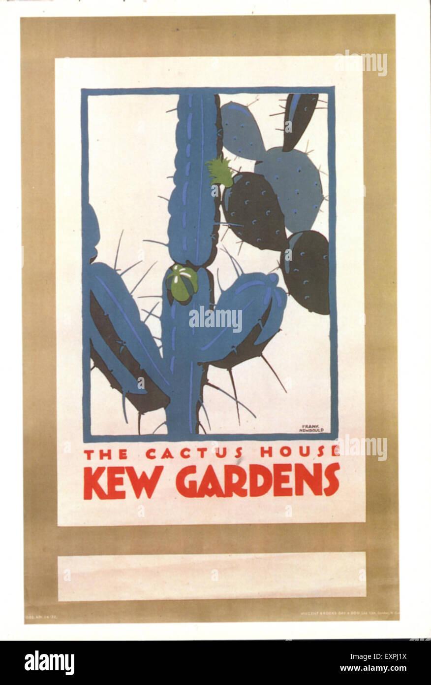 1950s UK London Transport Poster - Stock Image