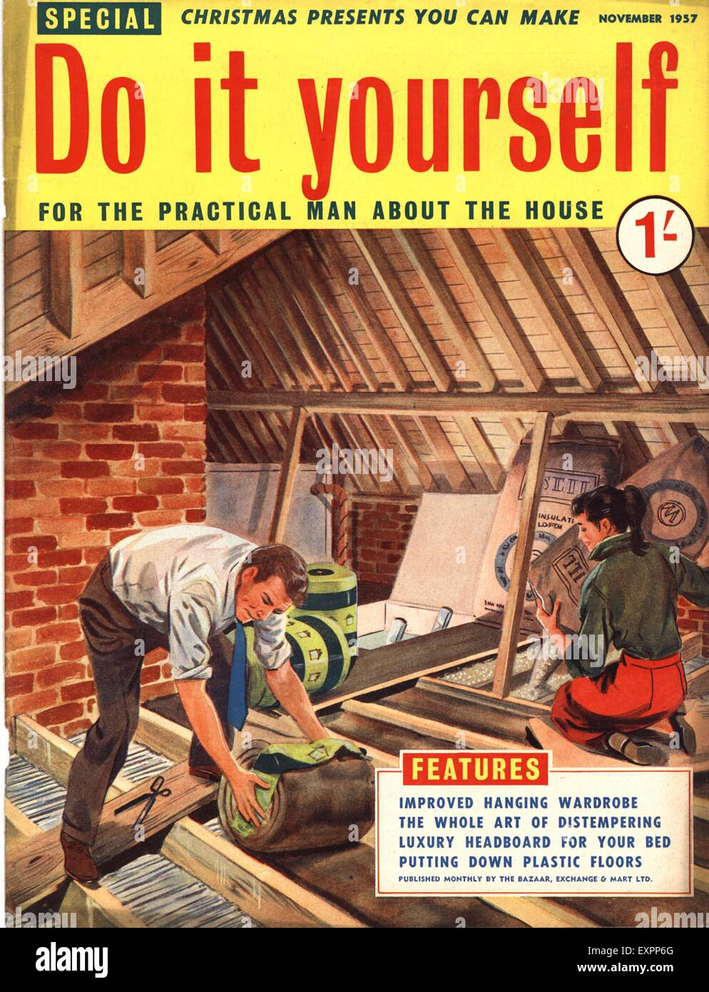 1950s uk do it yourself magazine cover stock photo 85322904 alamy 1950s uk do it yourself magazine cover solutioingenieria Gallery
