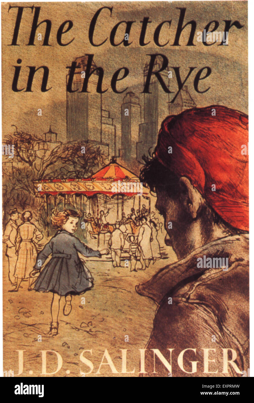1950s Usa The Catcher In The Rye By Jd Salinger Book Cover