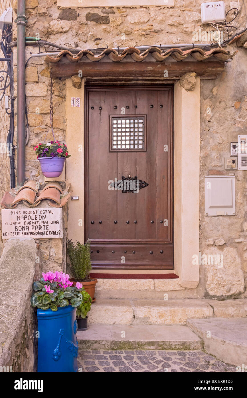 Napoleon Never Slept Here Hotel Antibes France - Stock Image