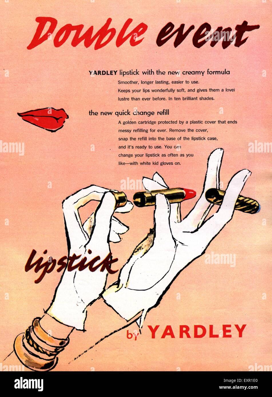 1950s Makeup Stock Photos & 1950s Makeup Stock Images - Alamy