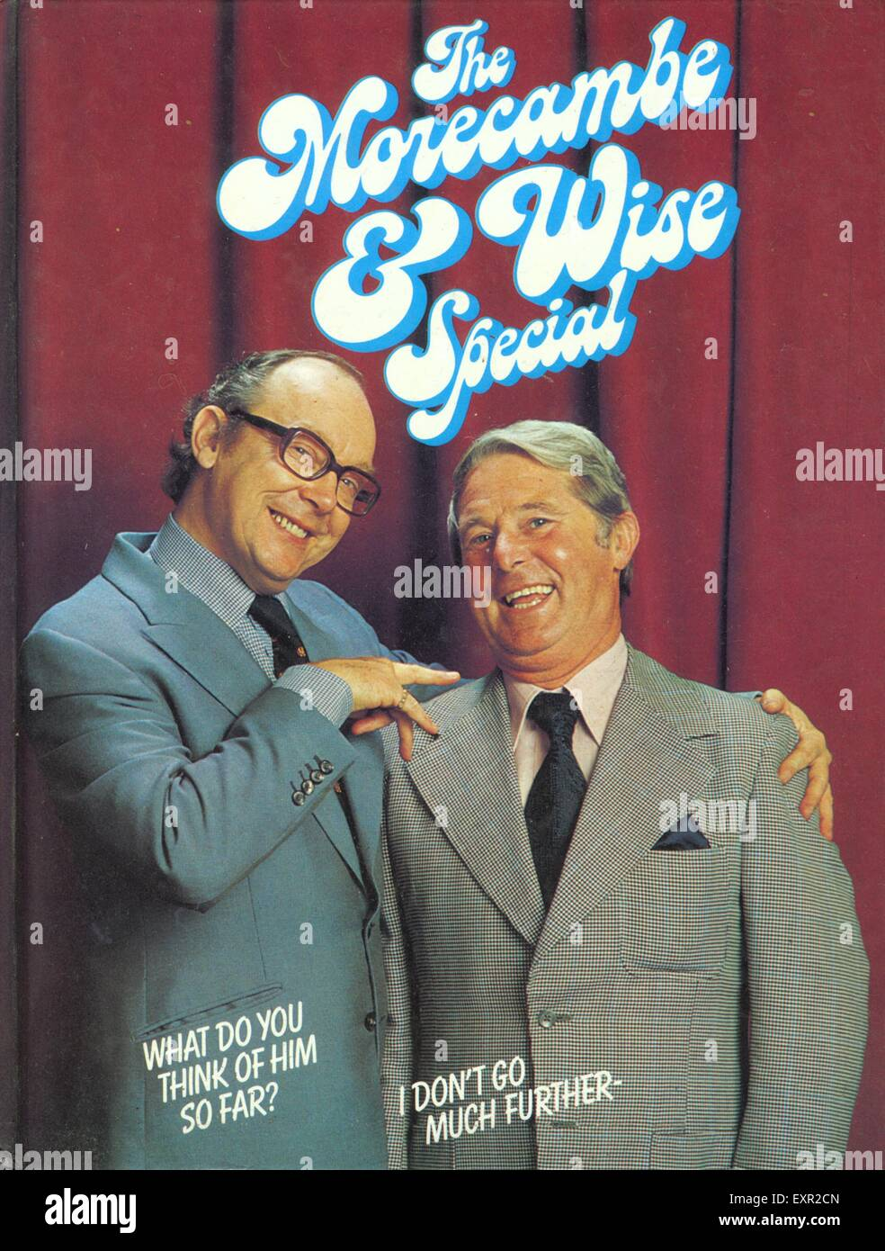 1960s UK The Morecambe and Wise Special Comic/ Annual Cover - Stock Image