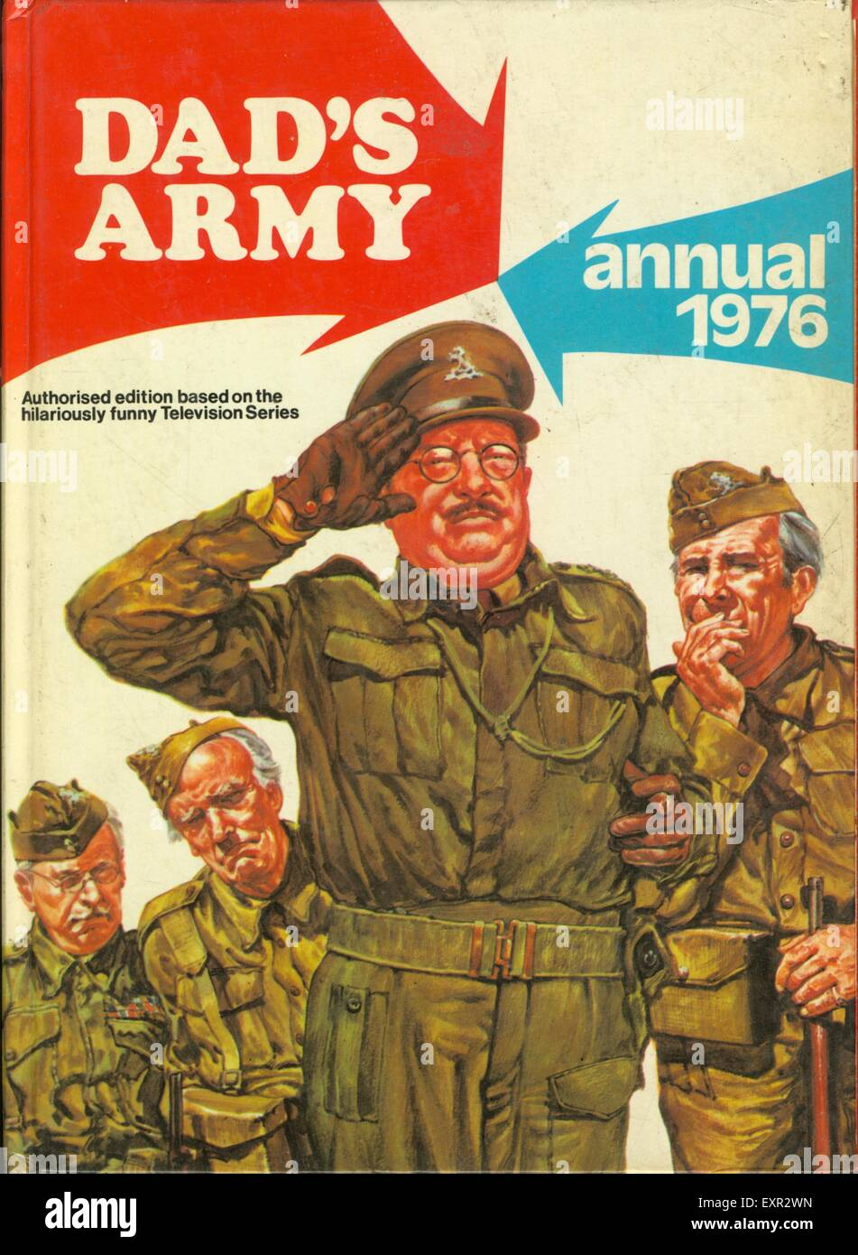 1970s UK Dad's Army  WW2 Comic/ Annual Cover - Stock Image