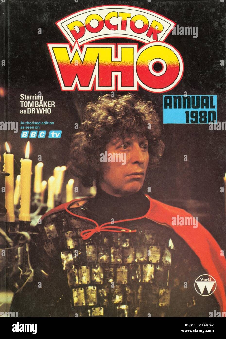 1980s UK Doctor Who Comic/ Annual Cover - Stock Image