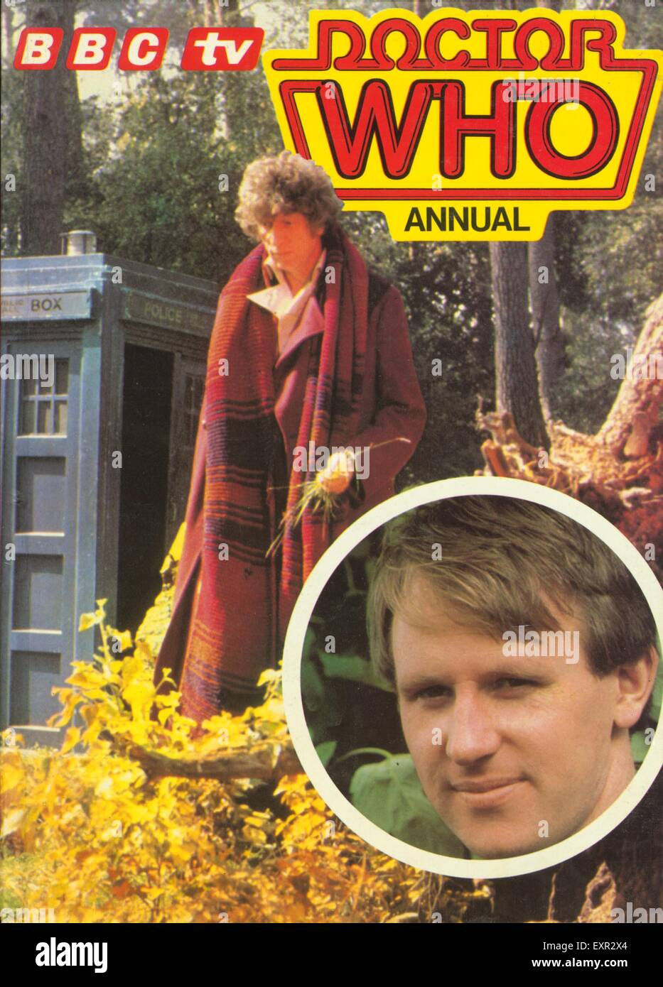1970s UK Doctor Who Comic/ Annual Cover - Stock Image
