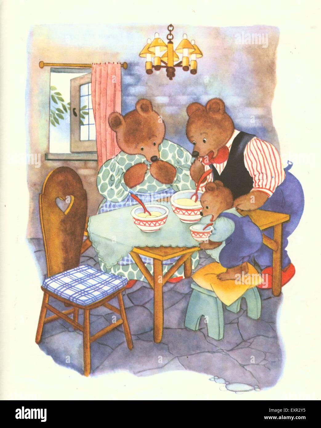 three bears porridge stock photos three bears porridge stock images alamy. Black Bedroom Furniture Sets. Home Design Ideas