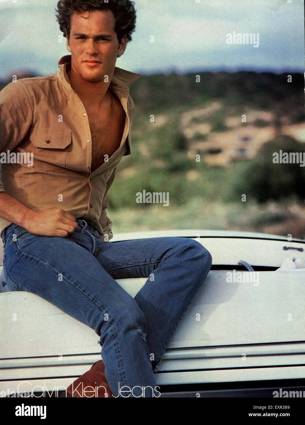 Calvin Klein Jeans Advert High Resolution Stock Photography And Images Alamy