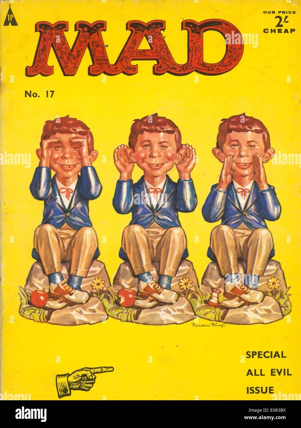 1960s uk mad magazine cover stock photo 85330110 alamy