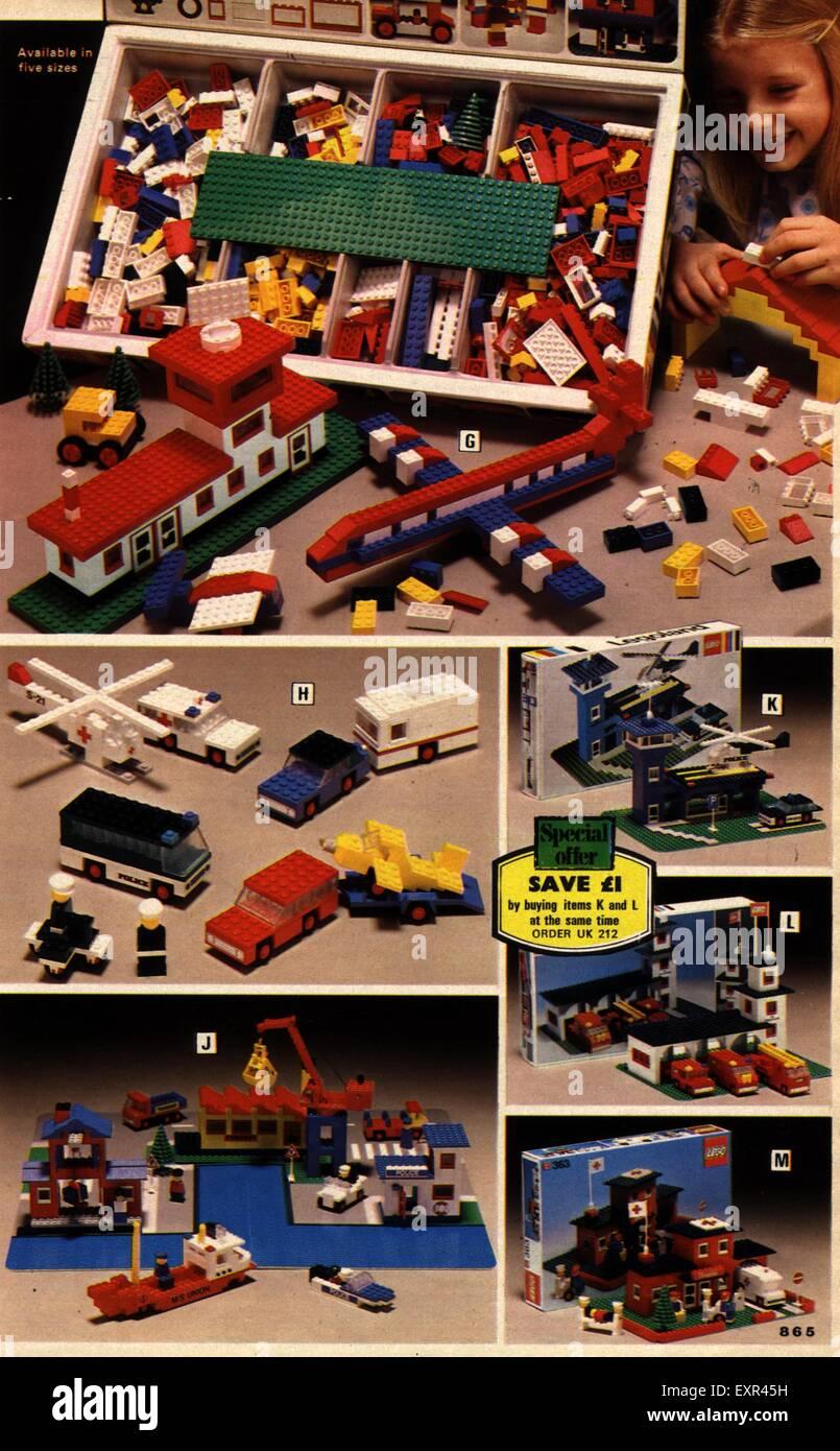 1960s UK Lego Catalogue/ Brochure Plate Stock Photo: 85330717 - Alamy