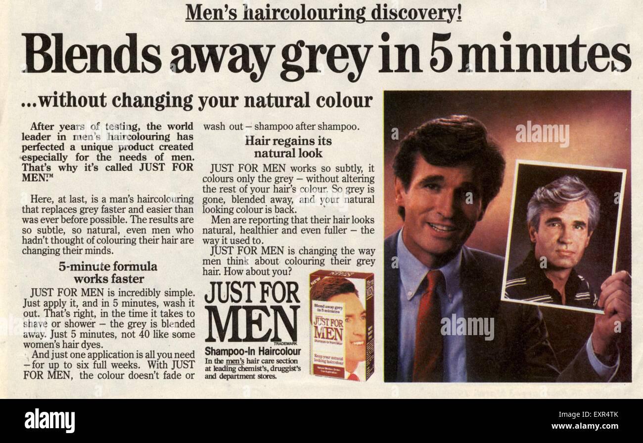 Dye mens grey hair Should A