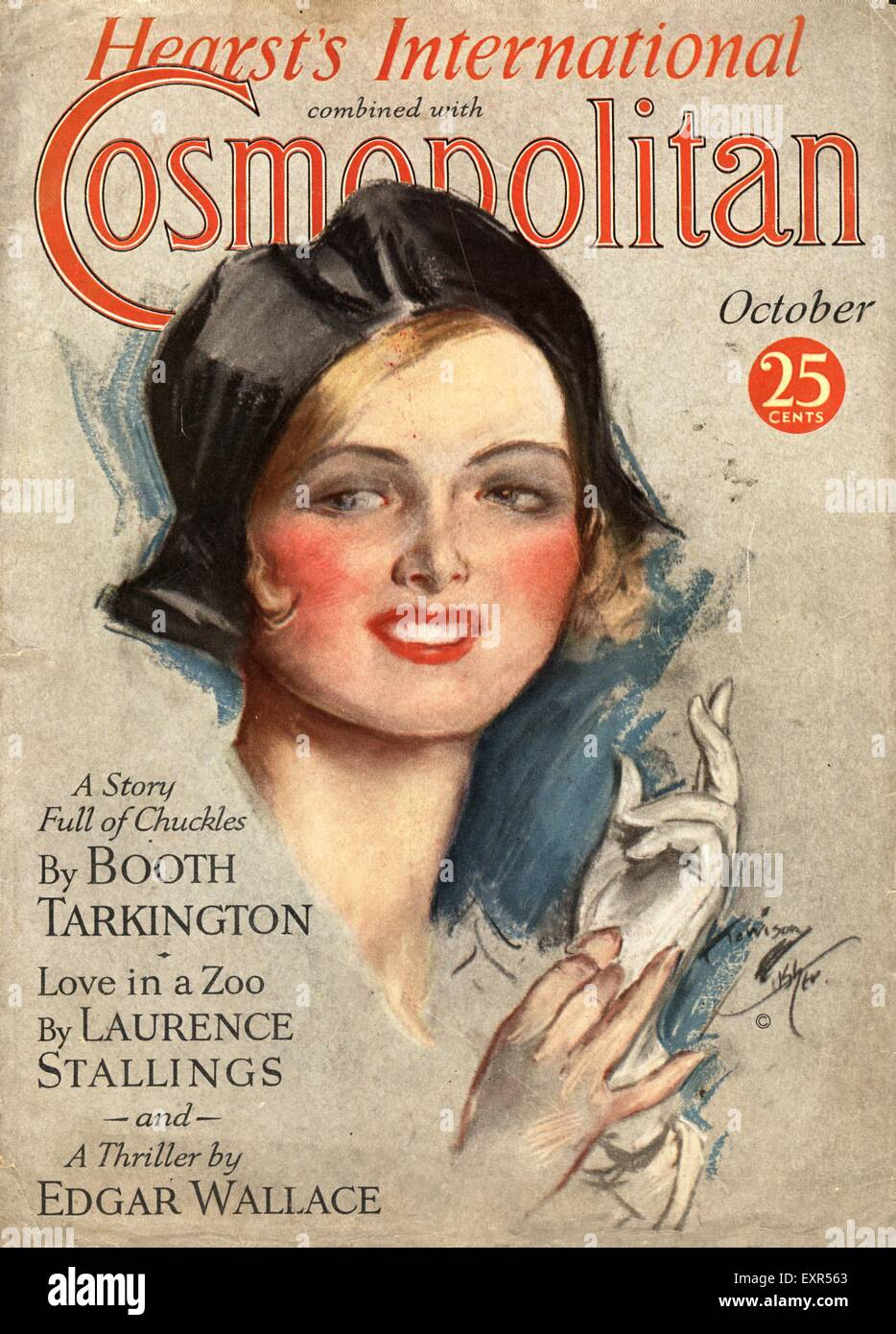 1920s Magazine Cover High Resolution Stock Photography And Images Alamy