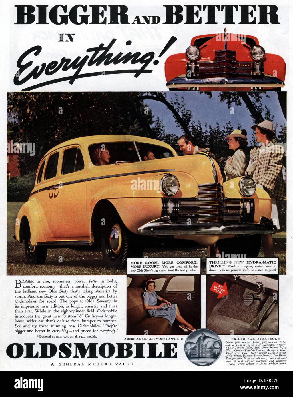Oldsmobile Cars Stock Photos Images Alamy 1941 Club Coupe 1930s Usa Magazine Advert Image