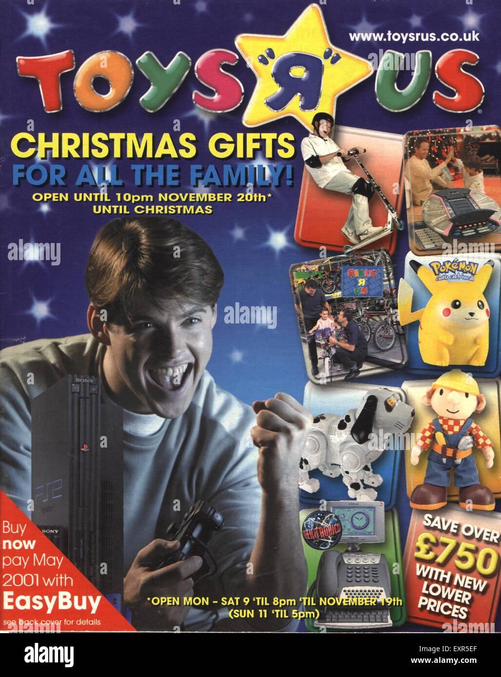 2000s uk toys r us magazine advert