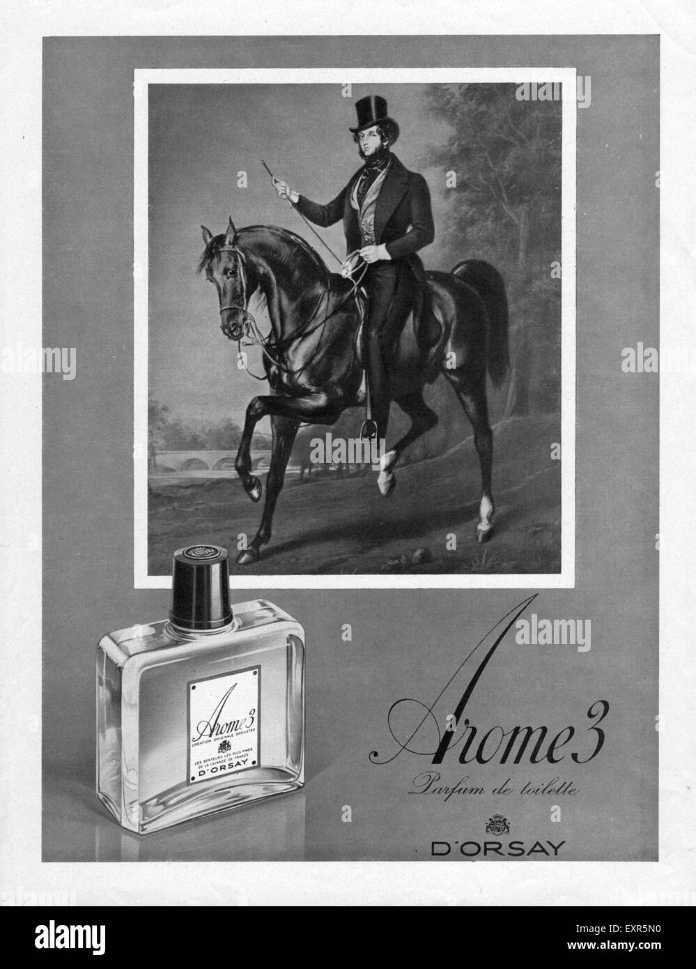 1930s France D'Orsay Magazine Advert - Stock Image