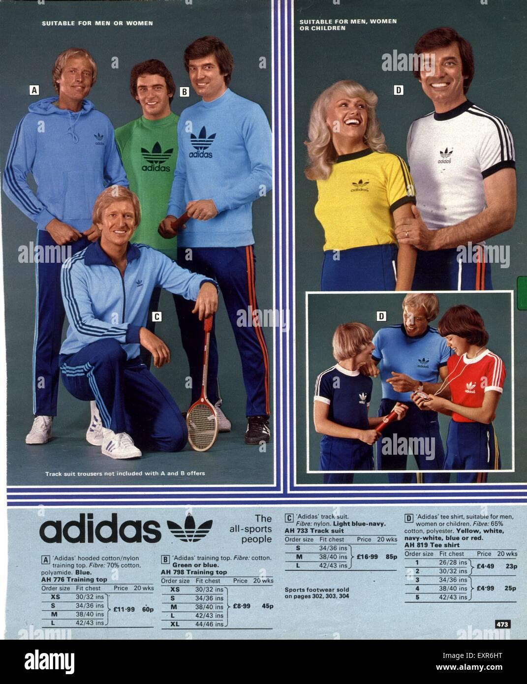 1970s Uk Adidas Magazine Advert Stock Photo Alamy