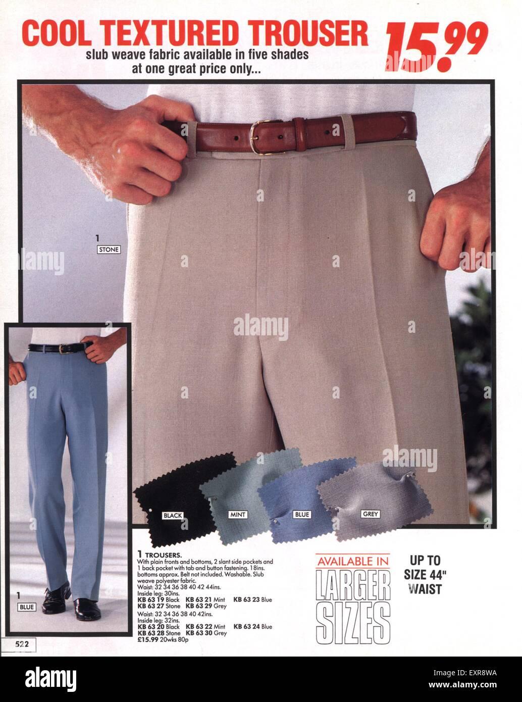 20s UK Mens Fashion Catalogue/ Brochure Plate Stock Photo   Alamy