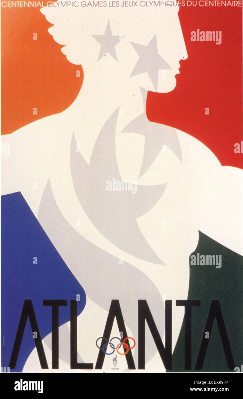 1910s USA Olympic Games Poster - Stock Image