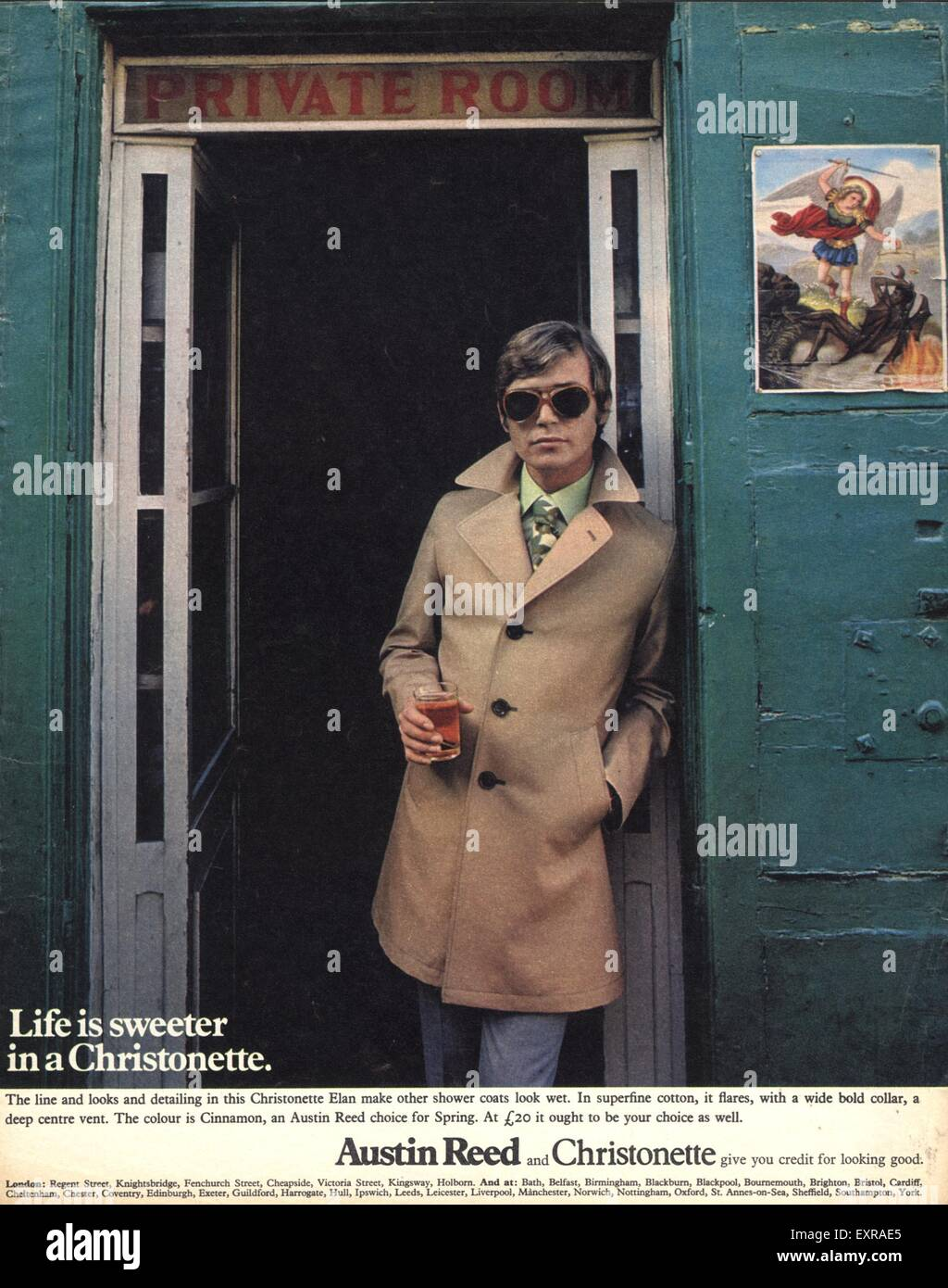 1970s Uk Austin Reed Magazine Advert Stock Photo Alamy