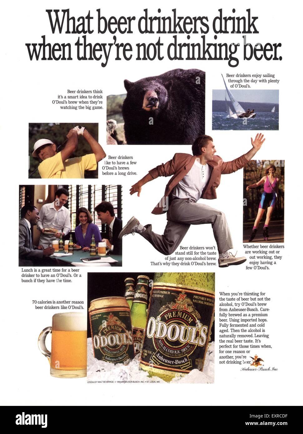 ba5ad8d07c454e 1990s Usa Magazine Advert Stock Photos   1990s Usa Magazine Advert ...