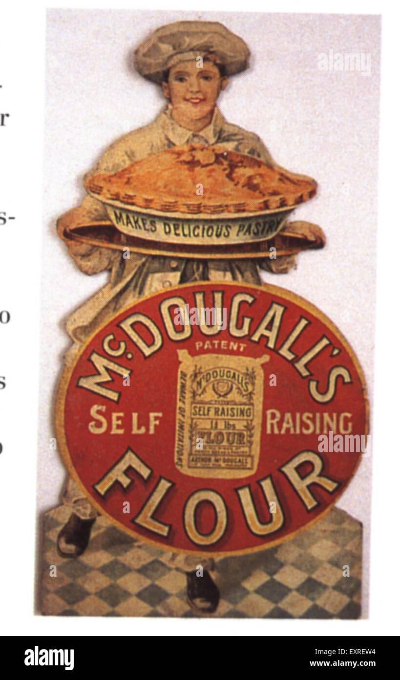 1900s UK McDougall's Promotional - Stock Image