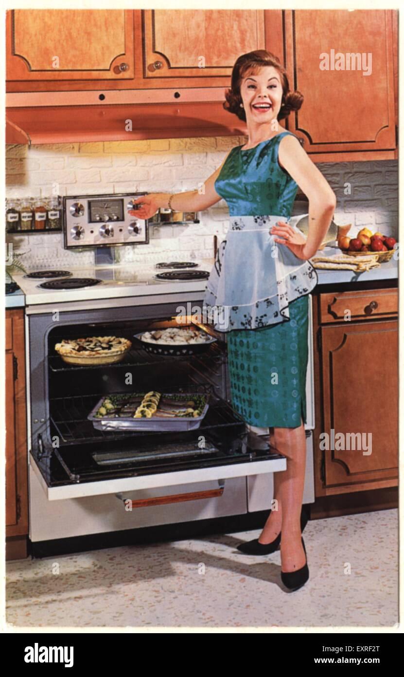 1950s USA Gibson Ultra 600 Magazine Advert - Stock Image