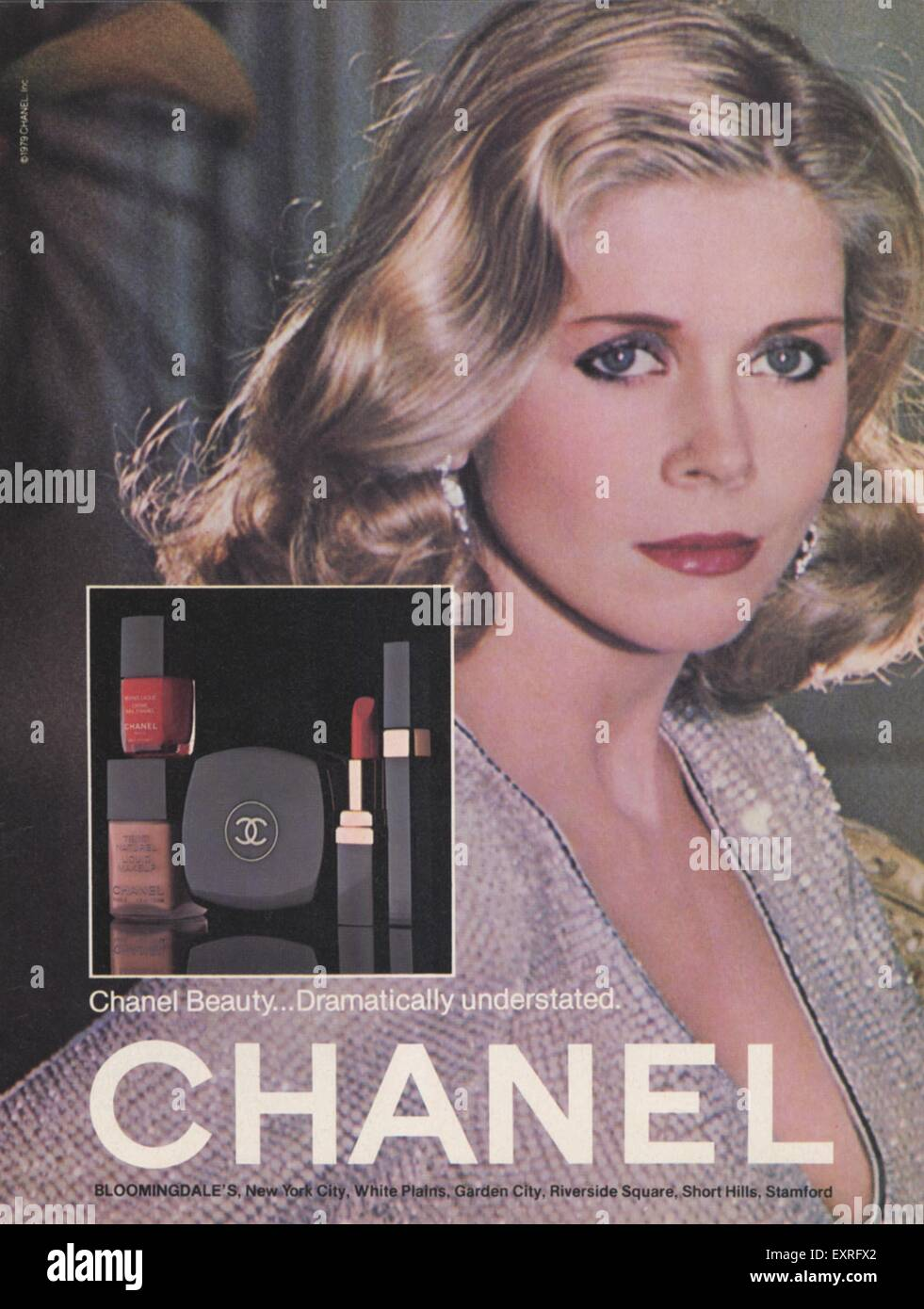 1970s UK Chanel Magazine Advert
