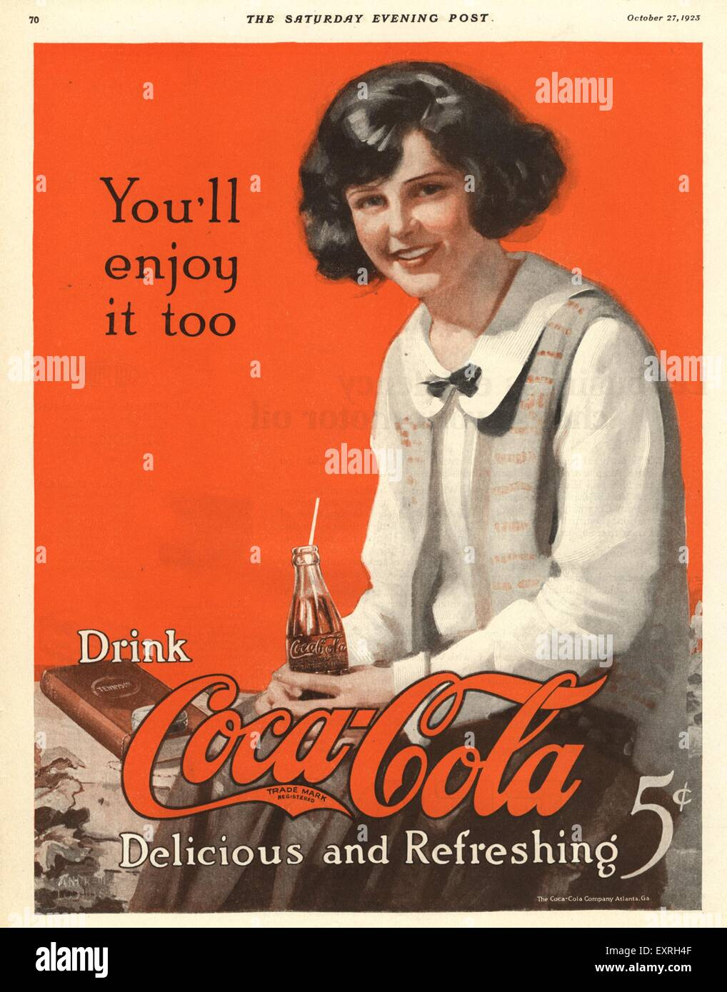 Coca Cola Advert Usa Stock Photos Coca Cola Advert Usa Stock