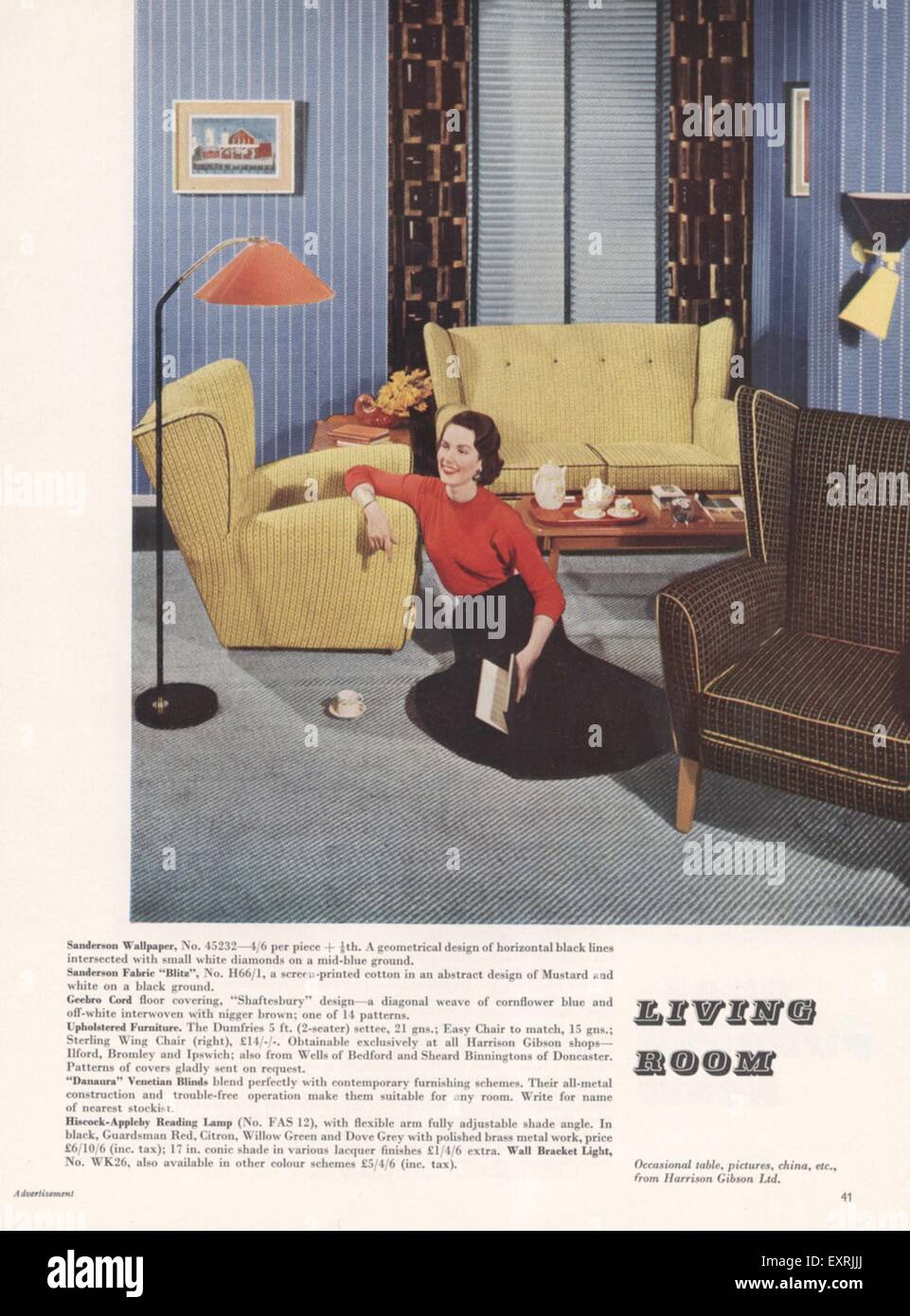 Awesome 1950S Living Room Stock Photos 1950S Living Room Stock Uwap Interior Chair Design Uwaporg