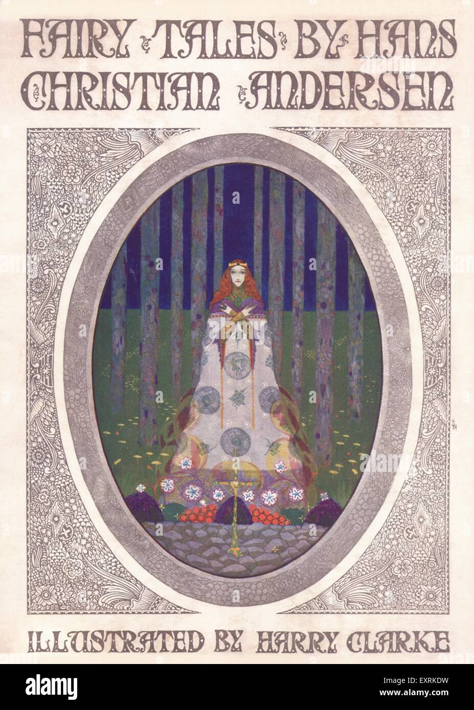 1920s UK Fairy Tales Book Cover - Stock Image