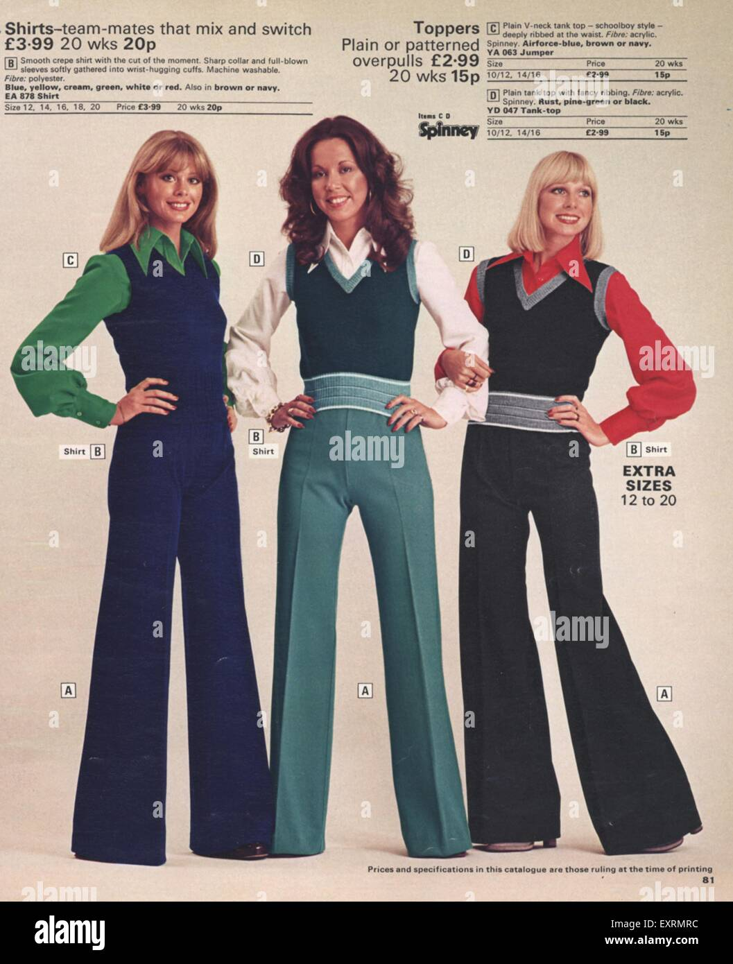 1970s Fashion Stock Photos Amp 1970s Fashion Stock Images
