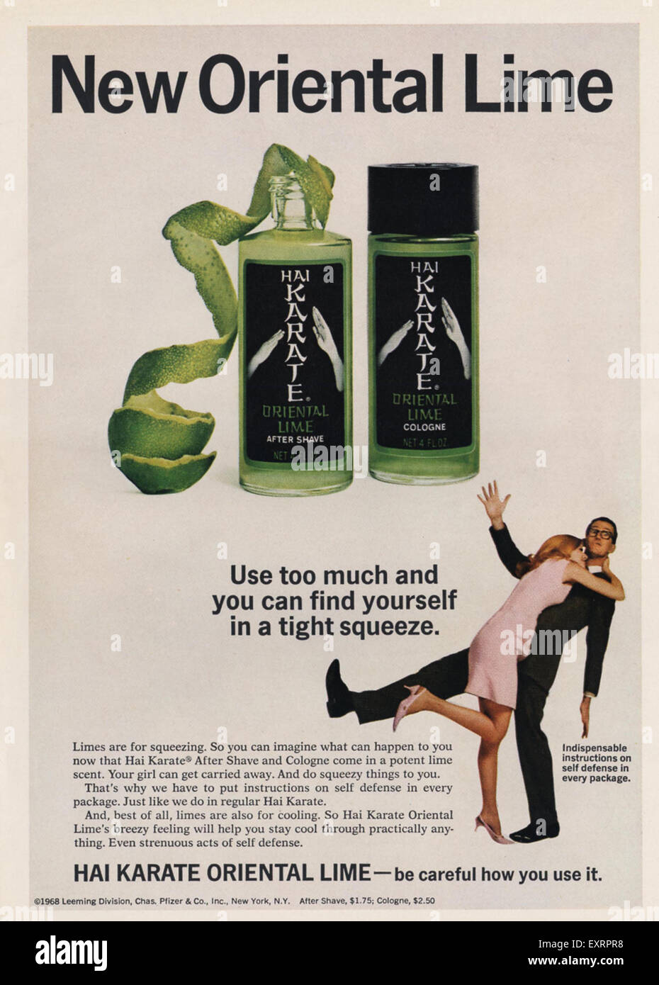 1960s USA Hai Karate Oriental Lime Magazine Advert