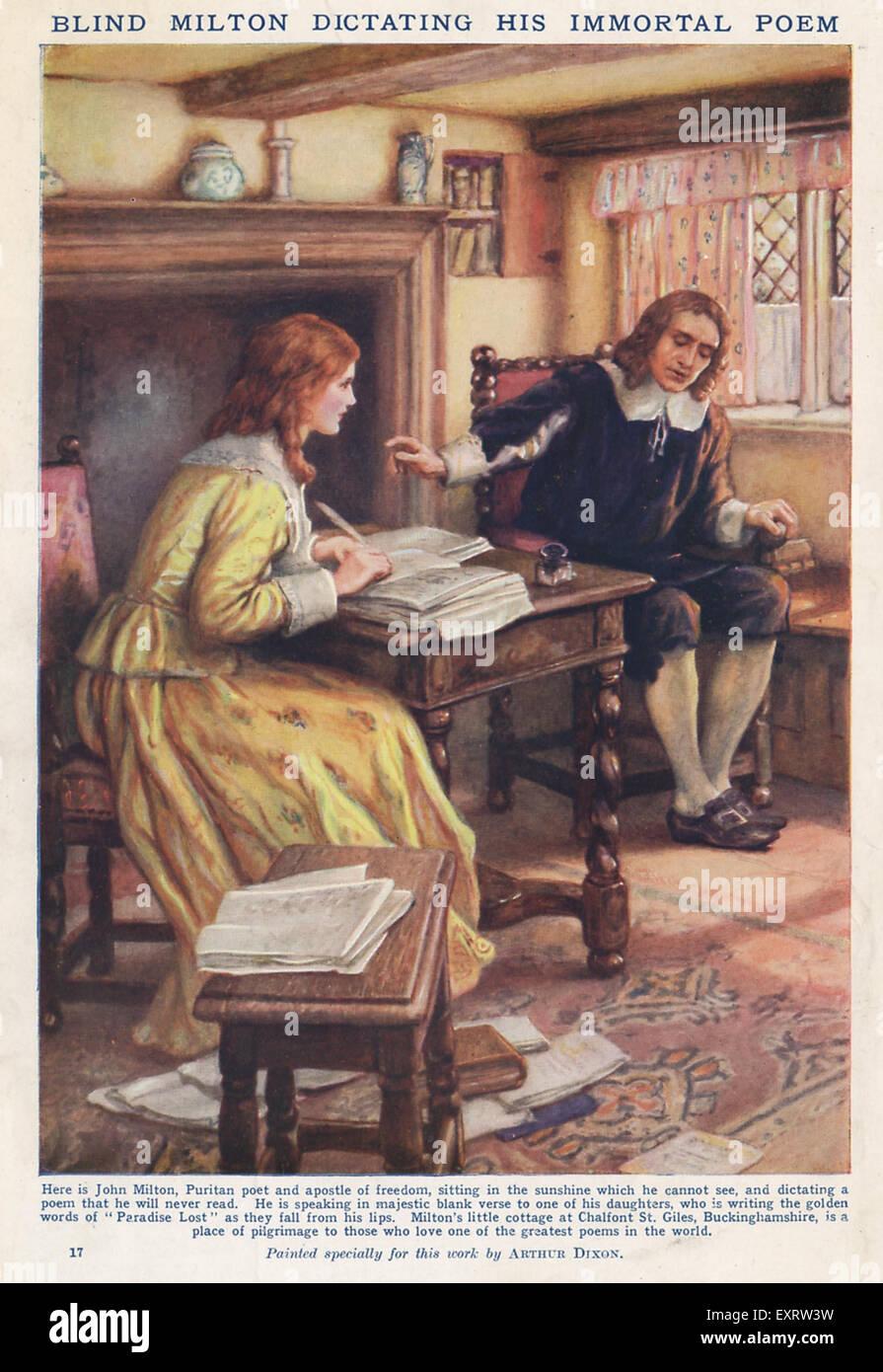 UK Milton Magazine Plate - Stock Image