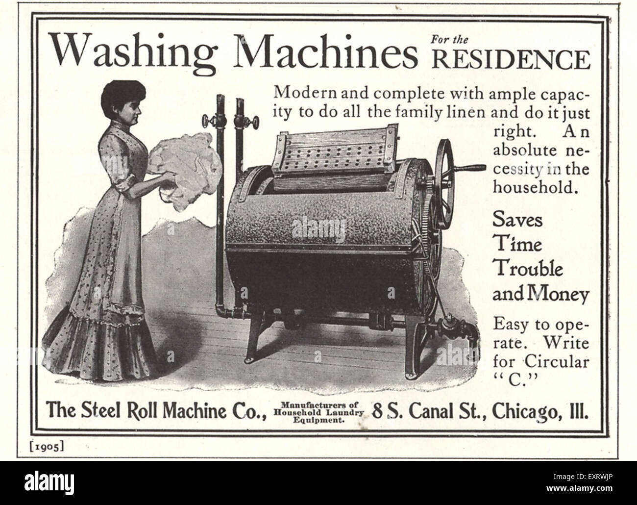 1890s USA The Steel Roll Manufacturing Company Magazine
