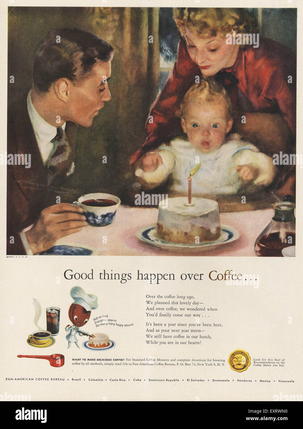 Coffee 1940s High Resolution Stock Photography And Images Alamy