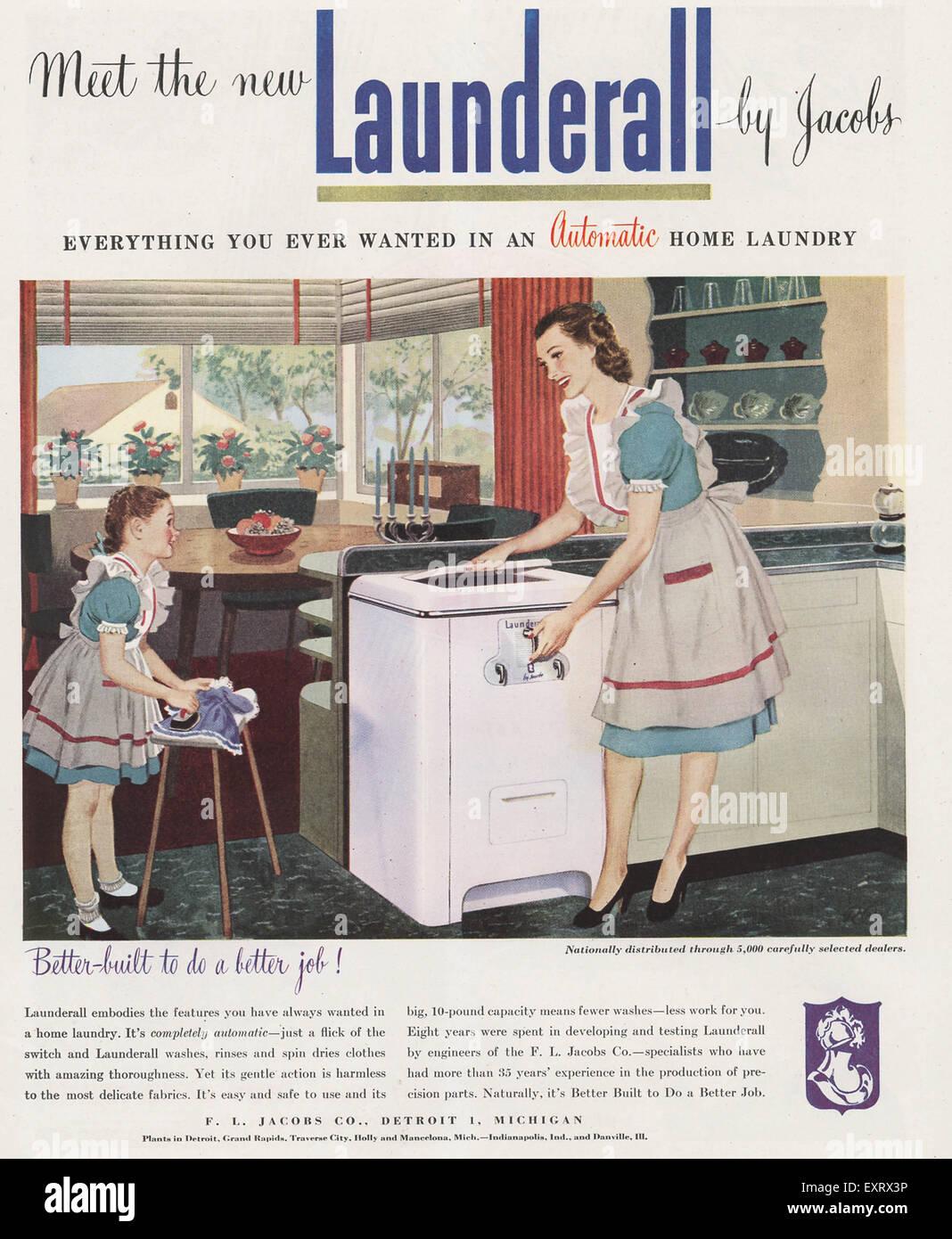 Woman Housework Advert Stock Photos & Woman Housework Advert