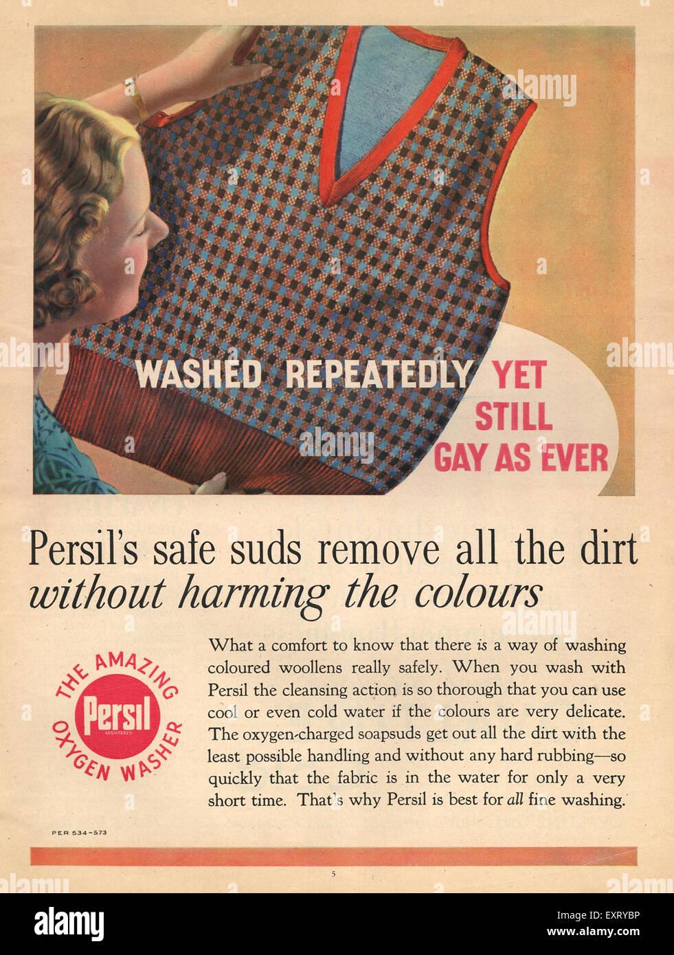 Persil Washing Powder Stock Photos & Persil Washing Powder