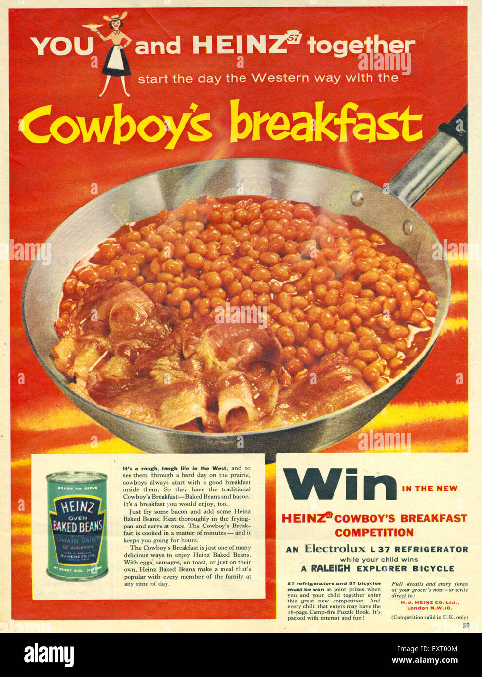 heinz beans competition