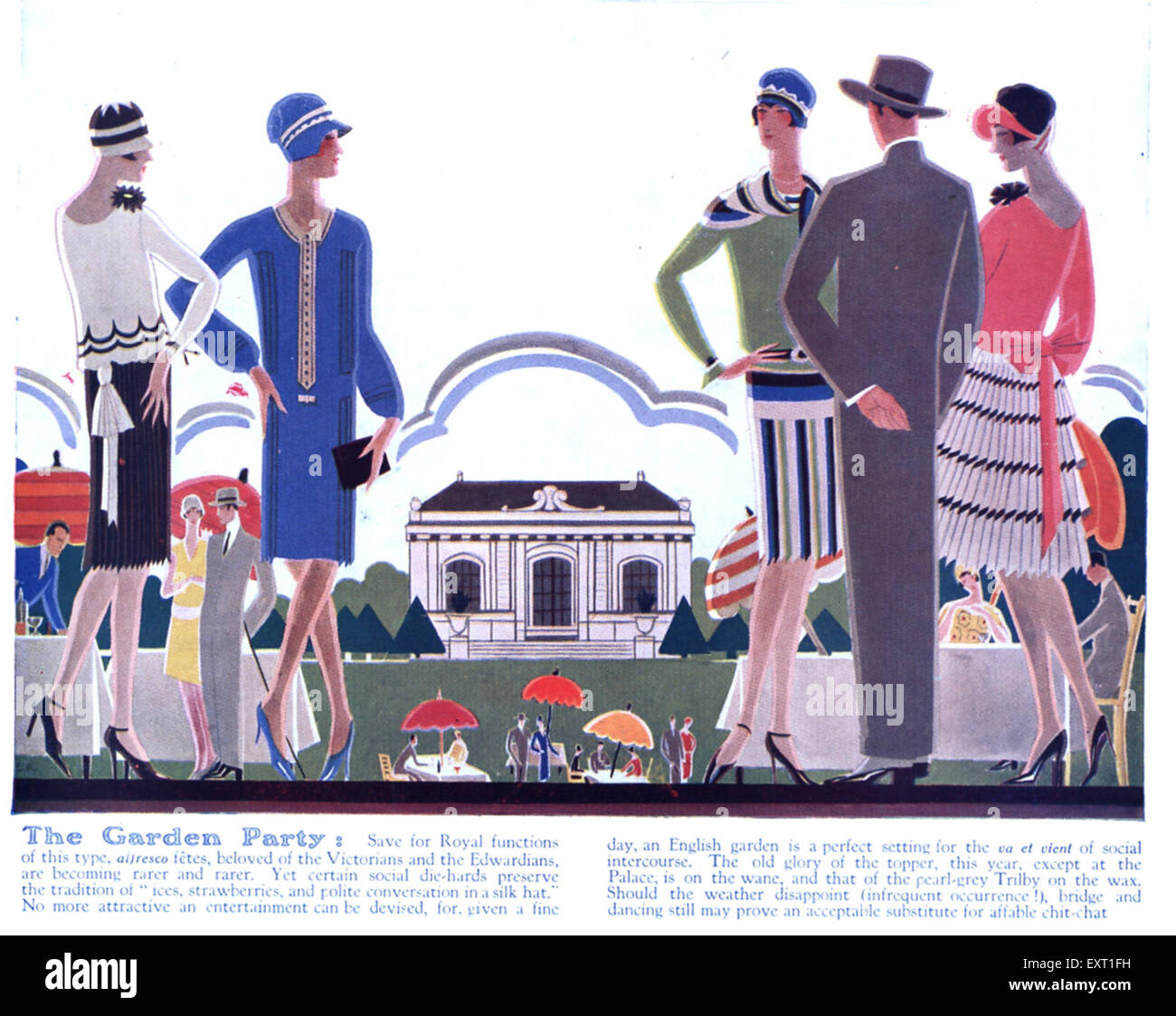 Allresco 1920s uk home fashion magazine stock photos & 1920s uk home