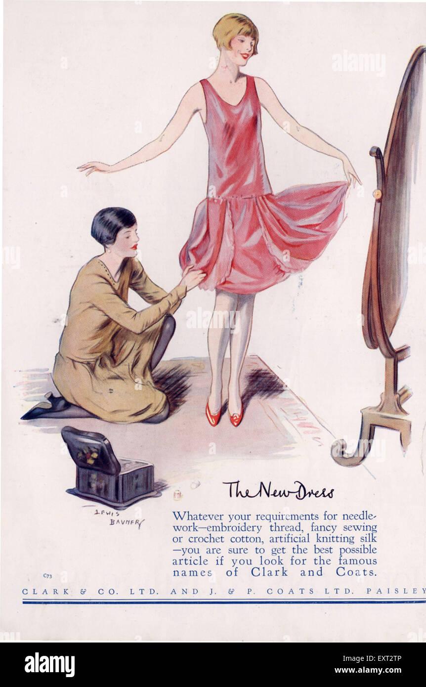 1920s UK Clark Coats - Stock Image