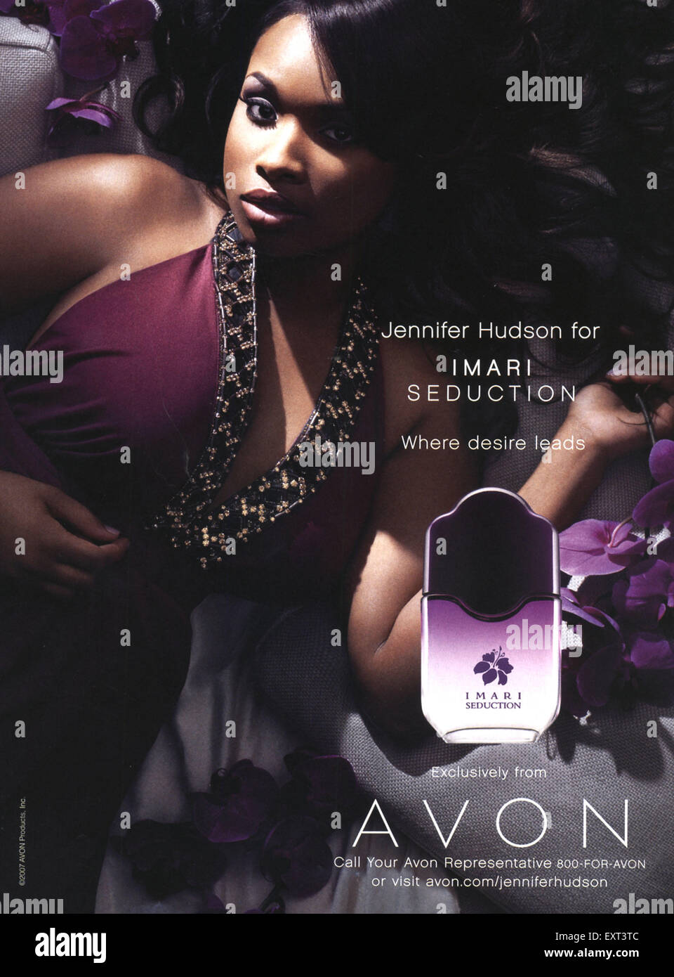 2000s USA Avon Imari Seduction Magazine Advert - Stock Image