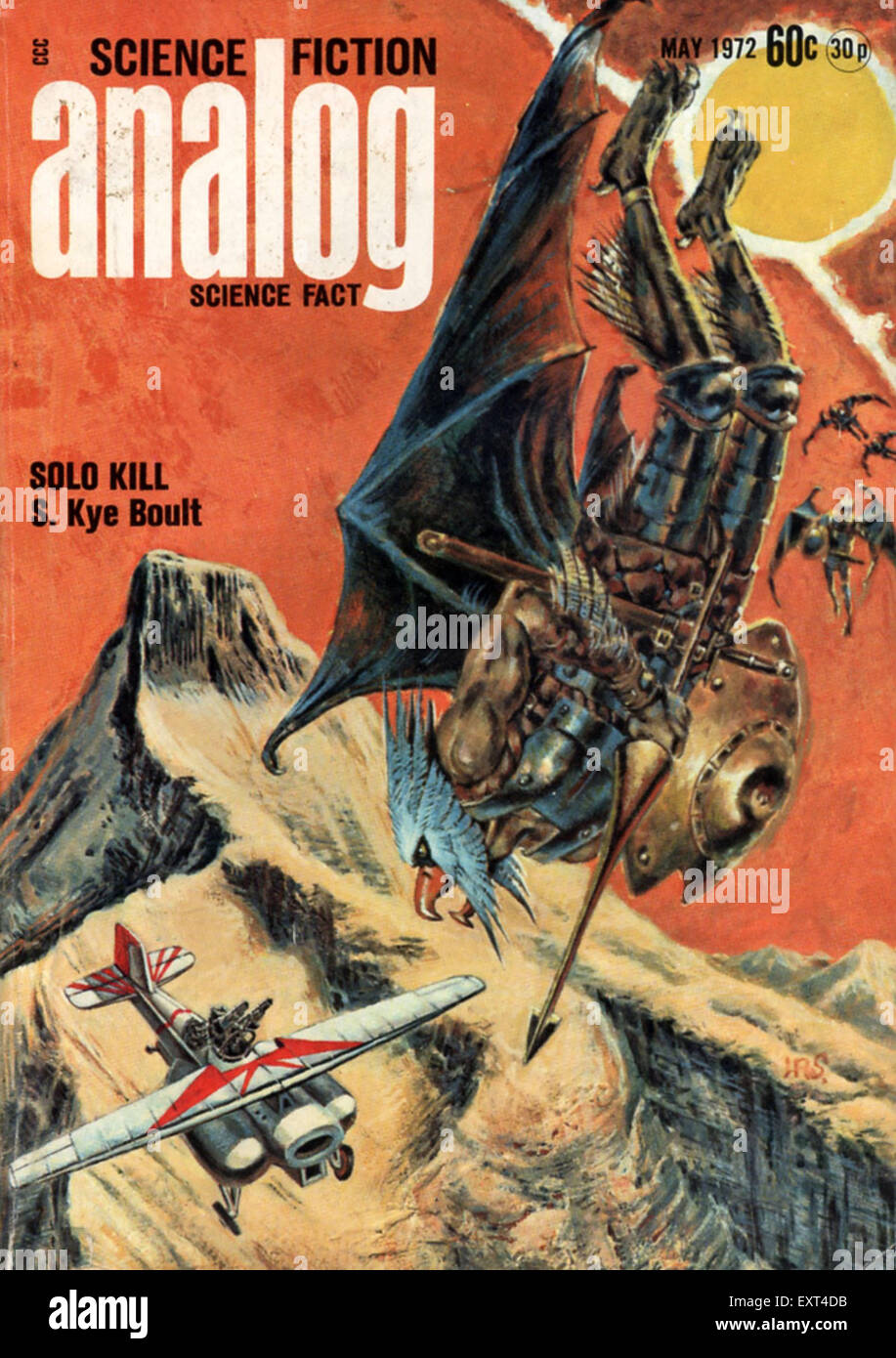 1960s UK Analog Magazine Cover - Stock Image