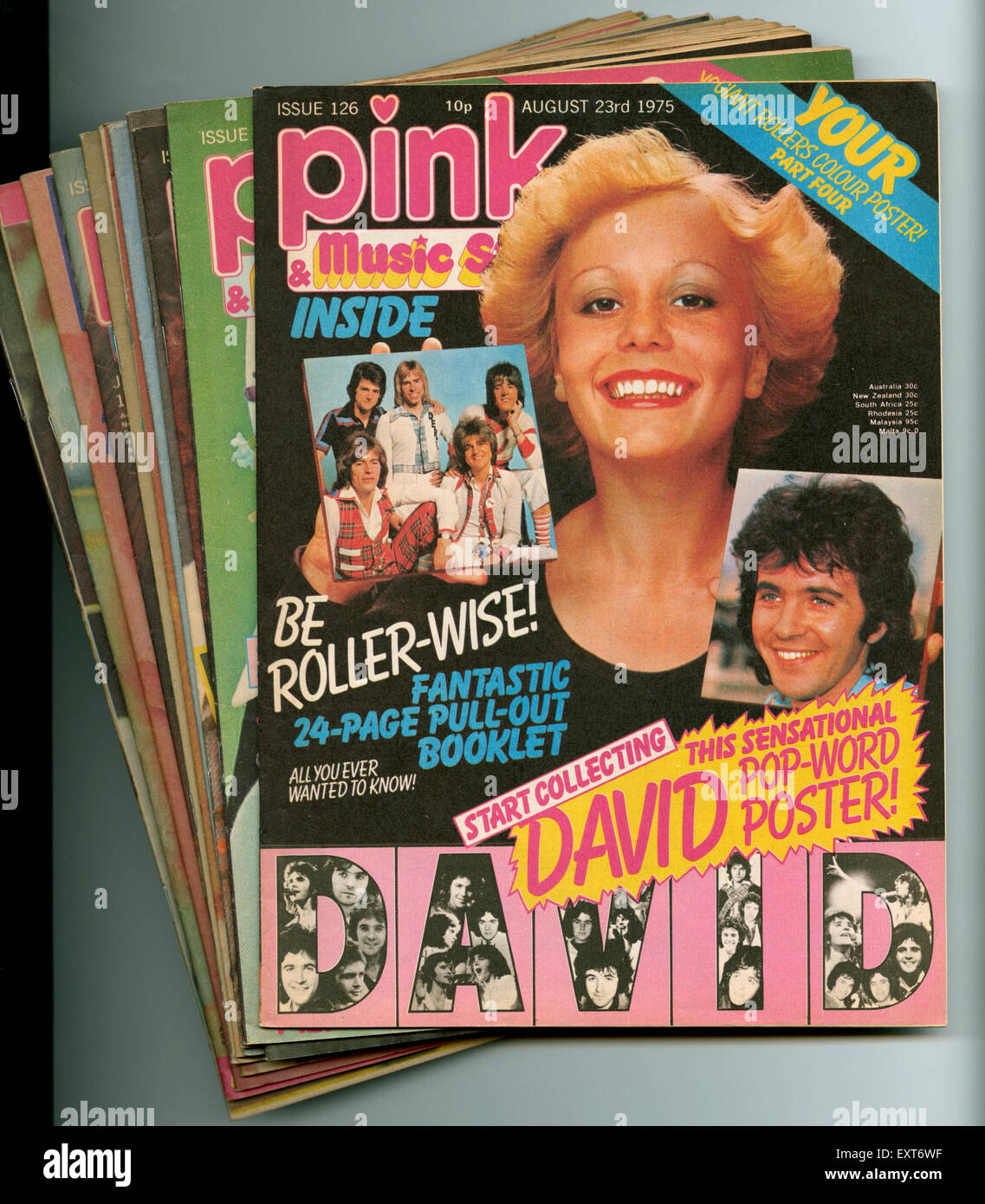 1970s Music Magazine High Resolution Stock Photography And Images Alamy