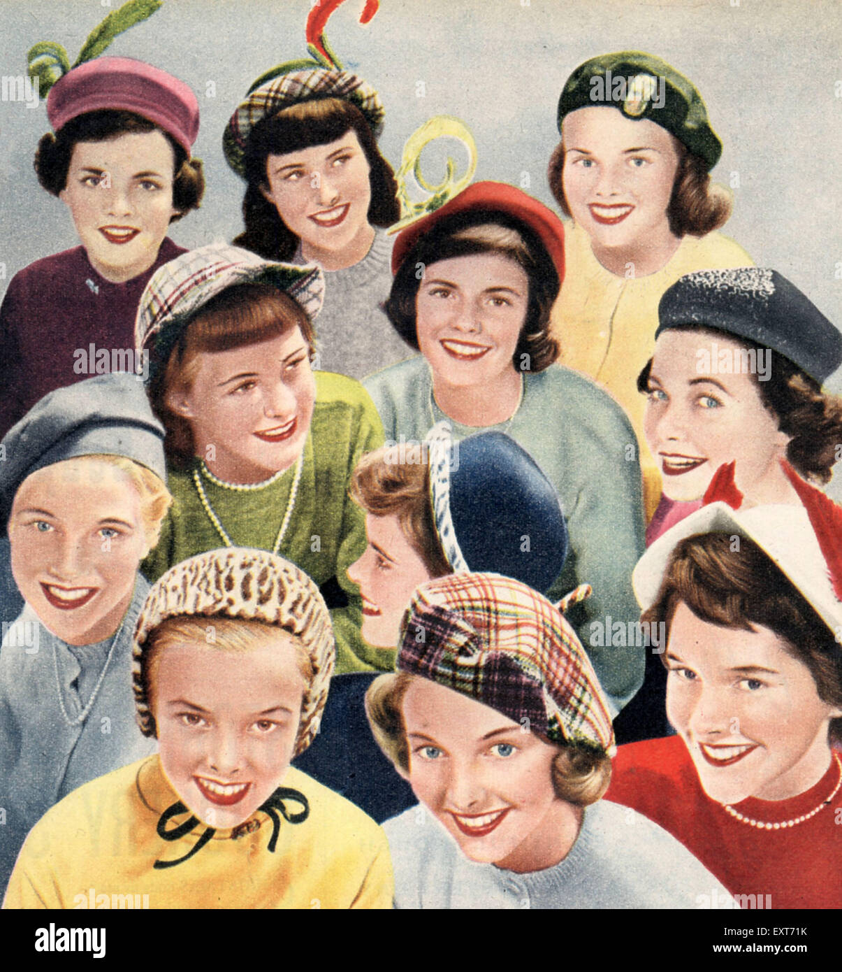 46fbba137180d 1940s Hats Stock Photos   1940s Hats Stock Images - Alamy