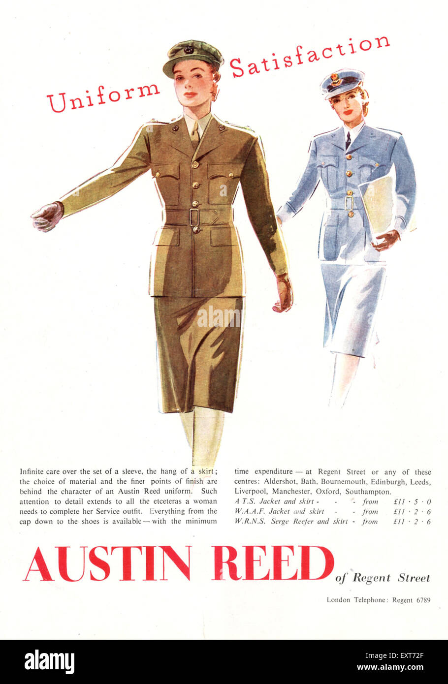 Advertising Collectables Wwii Austin Reed Officer S Uniforms Advert 1940 Ad Collectables Comercio Local Qroo Gob Mx