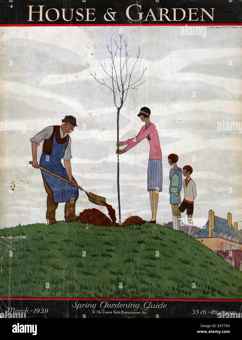 1920s Uk House And Garden Magazine Cover Stock Photo 85355021 Alamy